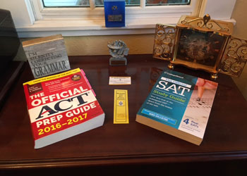 Official SAT Study Book & The Real ACT Prep Guide